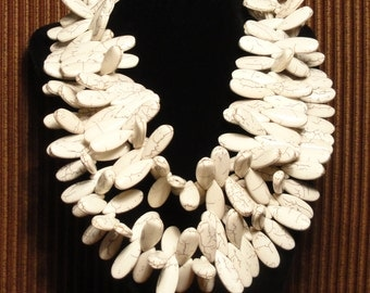 Ivory Petal Necklace