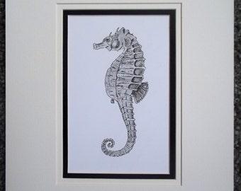 Seahorse Original Artwork