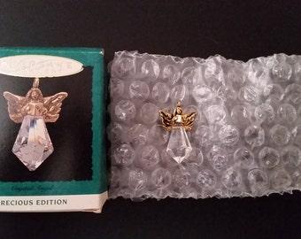 Vintage Hallmark Keepsake Crystal Angel, 1993, Ornament