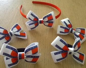 Bobby pins and elastic headband
