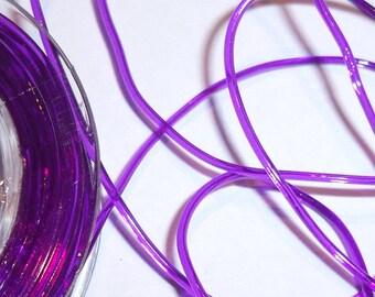 5 m flexible nylon thread 1 mm purple