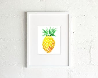 The Pineapple Print