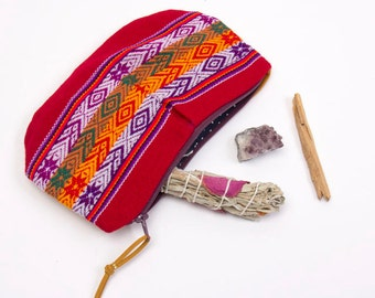 Machu Pichu Mini Textile Clutch Bag