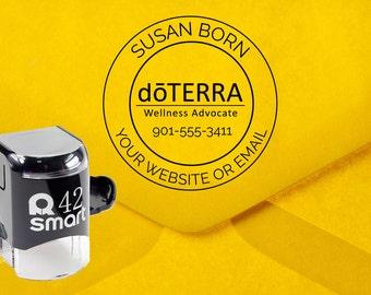 Doterra Stamp, Doterra Consultant Stamp, Doterra Catalog Stamp