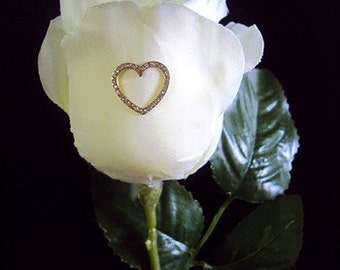 heart,gift to a loved,gift to the darling, flowers, rose