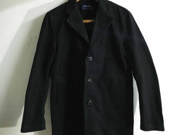 Vetra Moleskine Long Coat French