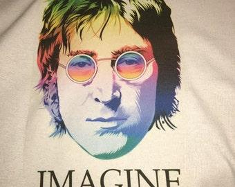 John Lennon Beatles Imagine T-shirt