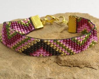 Loom Beaded Bracelet