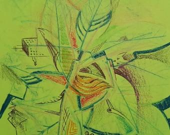 Urban Leaf (Original Artwork)