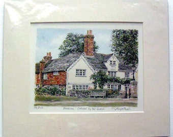 Horseham Art Print by Glyn Martin Signed and numbered by the artist ENGLAND