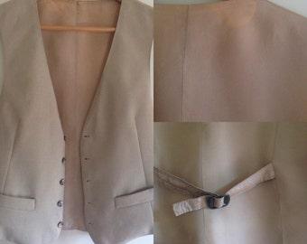 Linen waist coat 90s