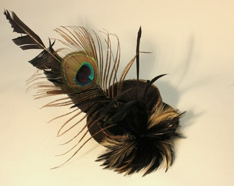 Rock Chick Mini Top Hat By ShapeShifters
