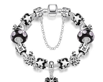 My Lucky Star Pandora Inspired Bracelet