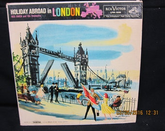 Holiday Abroad in London - Reg Owen & Orchestra - RCA Victor Records (1958)