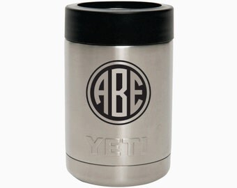 Personalized YETI Colster , Engraved Yeti 10oz Tumbler, YETI Rambler, Laser Engraved YETI - Groomsmen Gift - Corporate Gift