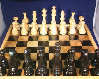 100% hand made chess set