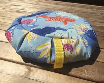 Pranayama Cushion Zafu Meditation Yoga Cushion Pillow Buckwheat Cushion with handle by E3Zen