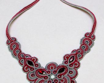"Necklace ""winter cherry"""
