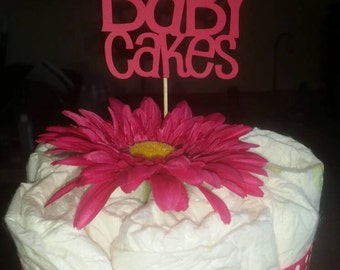 4 Baby Cakes Diaper Cake