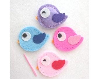 DIY Felt Sewing Kit - Bird (age 6+)