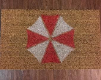 Umbrella Corporation (Resident Evil) Inspired Decorative Doormat