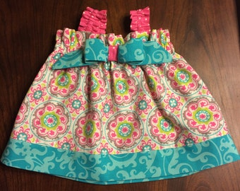 Colorful Play Dress Sizes 0/3 to 5T