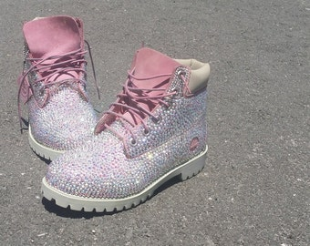 Swarovski crystal timberanss any size and colour available just message me