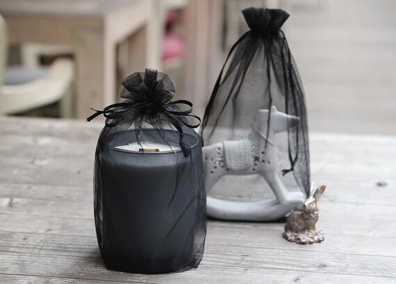 Wedding Favor Mesh Bags : 10 mesh fabric bags, favor bags, wedding favor bags, gift bags, fabric ...