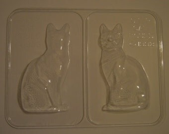 3D Chocolate Cat Mould