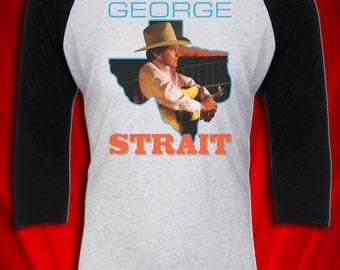 George Strait Vintage Tour Concert Tee T-shirt