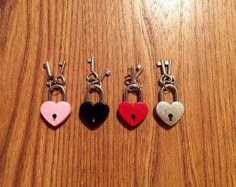Add on: heart shaped lock