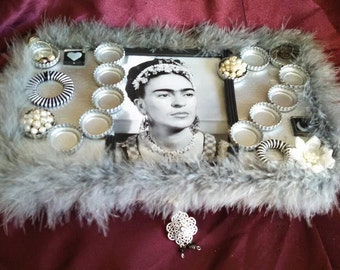 Frida Kahlo inspired treasure box