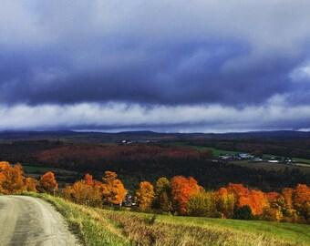 Vermont Foliage Scene