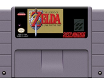 Zelda A Link to the Past Snes Rpg Game English Language Save File USA Version