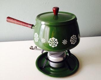 Vintage 1960's Fondue Pot