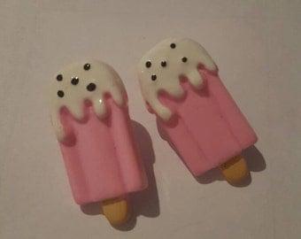 Kawaii style ice cream earrings