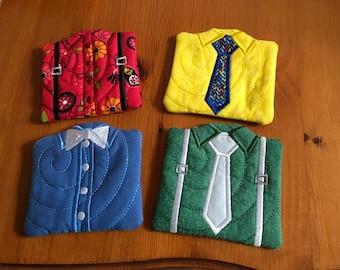Shirt Coaster set of 4