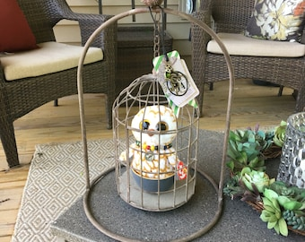 Owl Cages! A home for your owl!