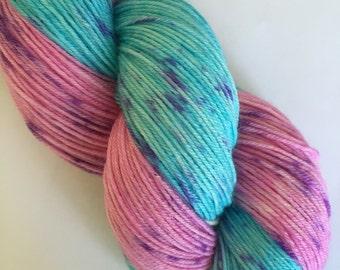 Hand Dyed Yarn 4ply Superwash Merino Wool 100g/400m