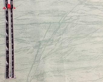1 1/4 yard of green fabric