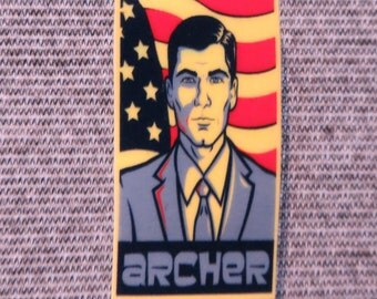 Handmade Archer Pin