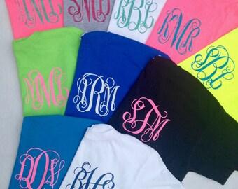 Glitter Monogrammed T-Shirt