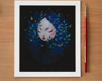 In the Midnight Garden- Limited Edition Print