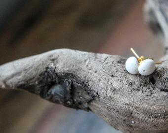 Concrete earrings, concrete Jewelry, minimalist jewelry, cement Jewelry, architectural earrings, concrete, earrings, small earrings, round