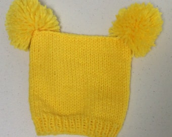 Square baby hat