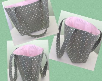 Handmade bag, Summer, beach, shopping.