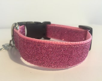 Pink Sparkle Glam Collar