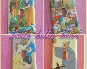 Story book Switch plate cover