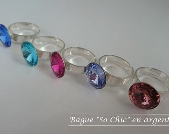 "Ring ""So Chic"" silver"