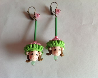 Earring doll art. 24